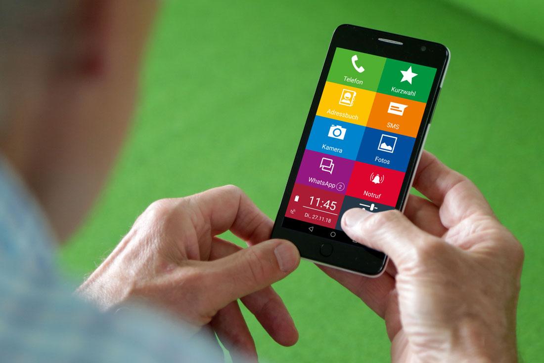 EinfachFon Senioren Smartphone
