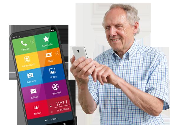 EinfachFon - Das Seniorenhandy Smartphone