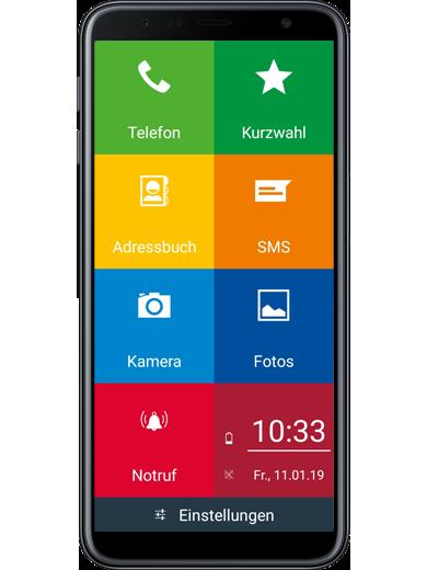Samsung Galaxy J6+ EinfachFon Seniorenhandy